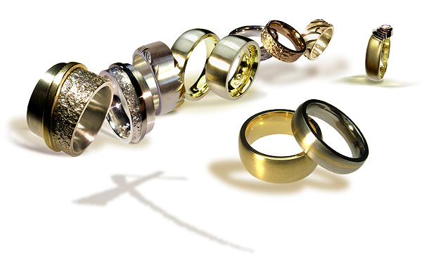 hand crafted ethical wedding ring