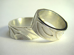 5b054ff19b071 Handmade Vegan Wedding and Partnership Rings